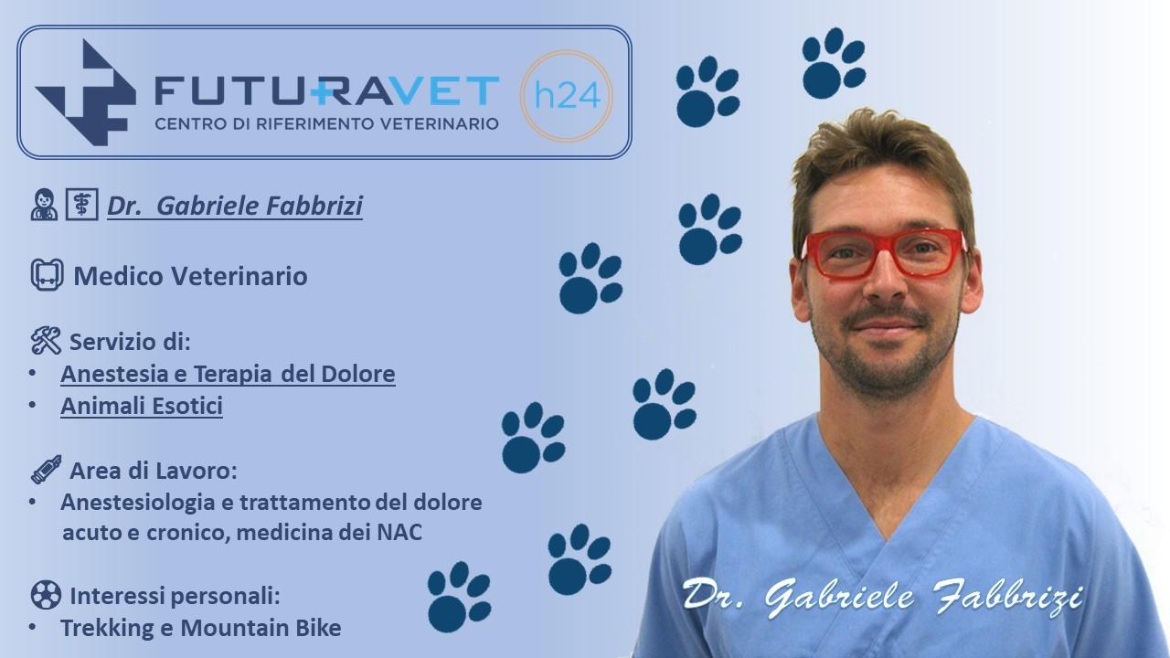 Dr. Gabriele Fabbrizi - Medico Veterinario - Clinica Futuravet