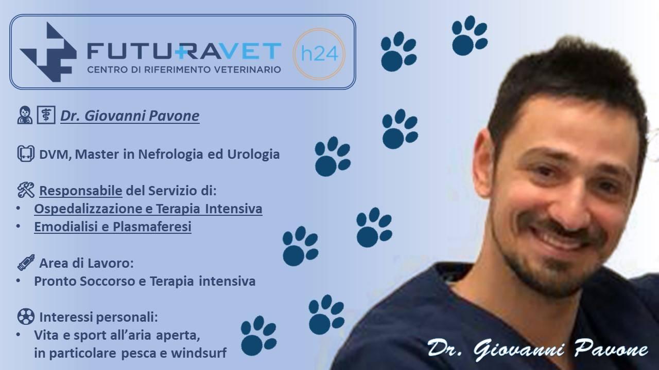 Dr. Giovanni Pavone - veterinario Clinica Futuravet