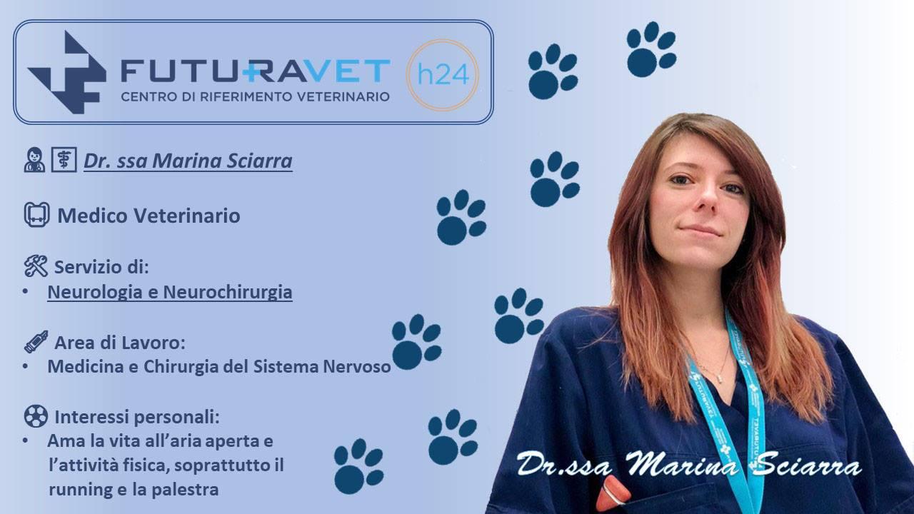 Dr.ssa Marina Sciarra - Veterinario Futuravet