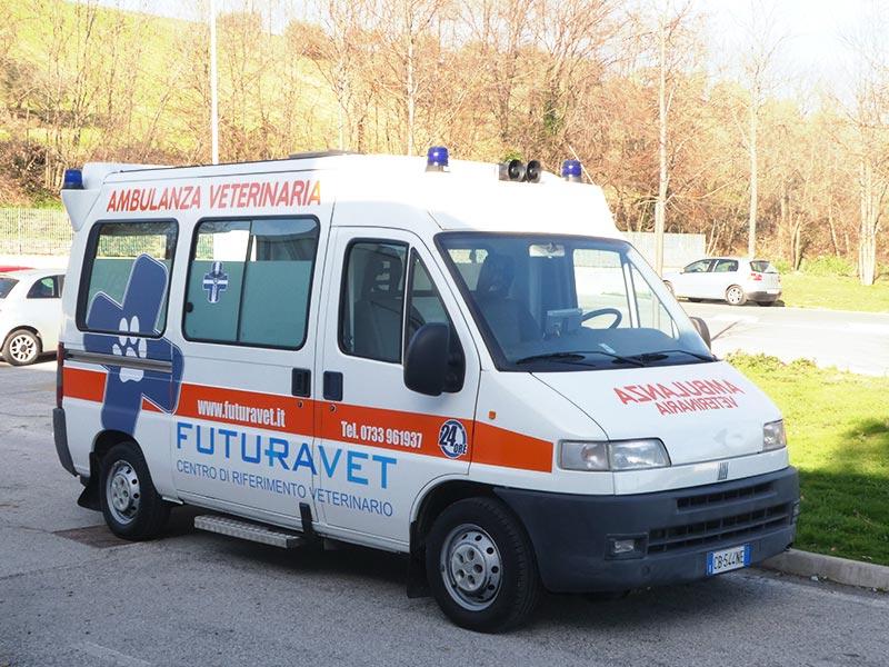 ambulanza veterinaria Futuravet
