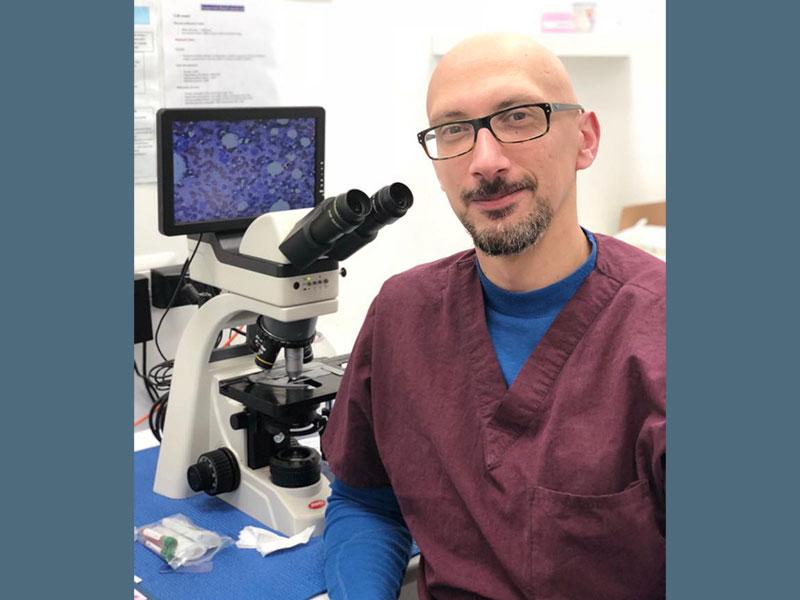 Dr. Michele Sampaolo | Veterinario | Specialista in Oncologia | Clinica Futuravet | Tolentino | Marche