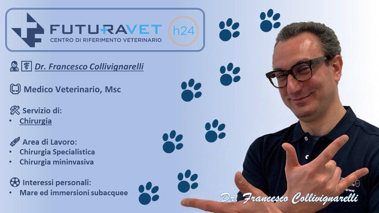 Dr. Francesco Collivignarelli - Medico Veterinario - Clinica Futuravet