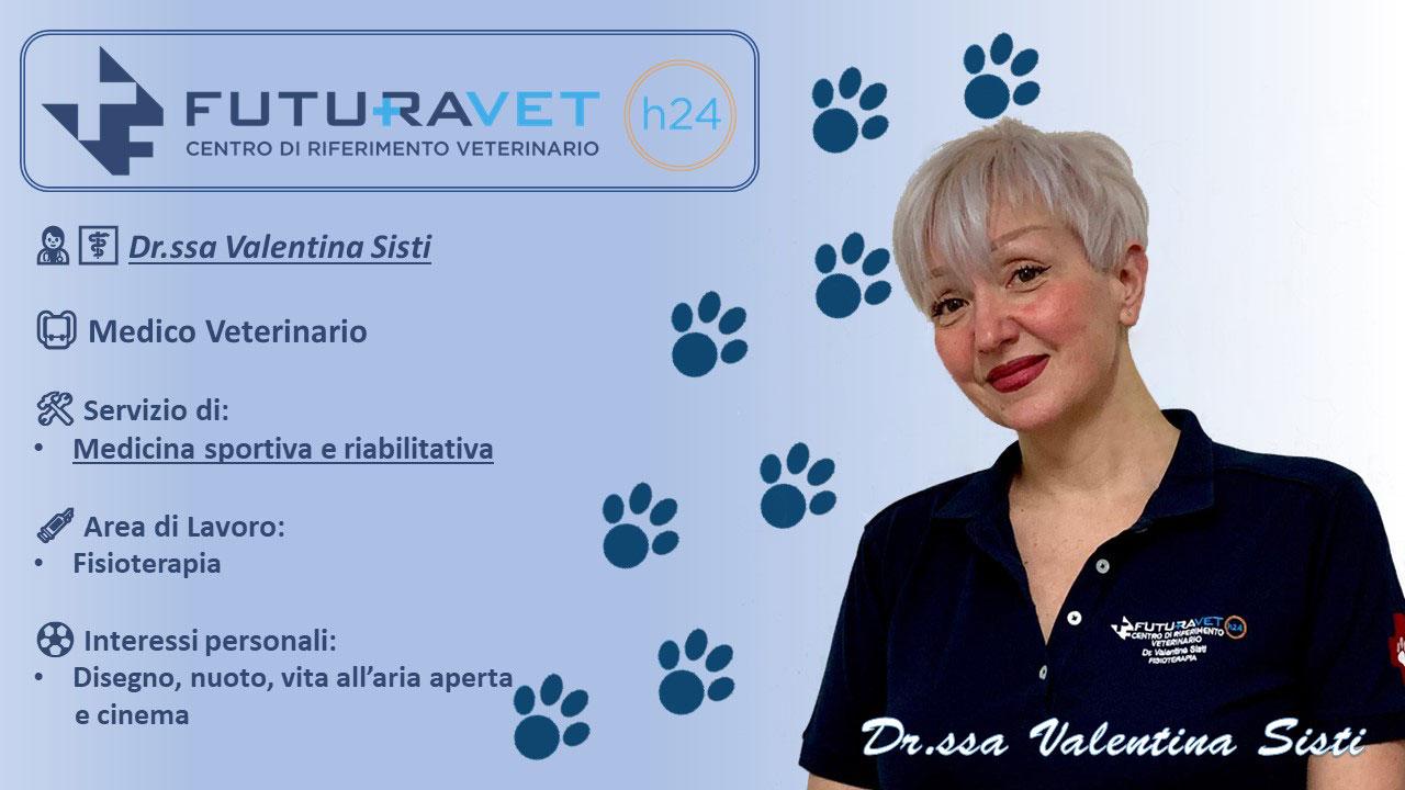 Dr.ssa Valentina Sisti - Medico Veterinario - Clinica Futuravet