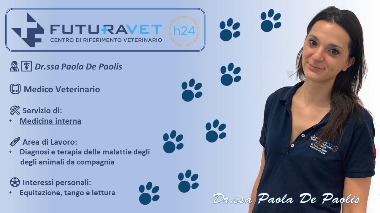 Dr. Paola de Paolis - Medico Veterinario - Clinica Futuravet