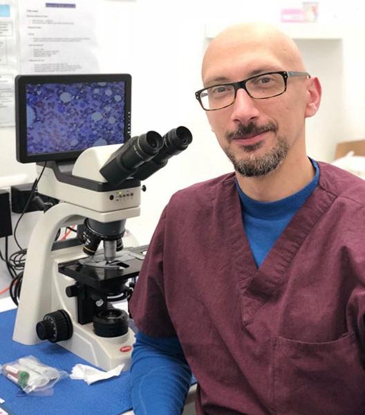 Dr. Michele Sampaolo - Medico Veterinario Clinica Futuravet