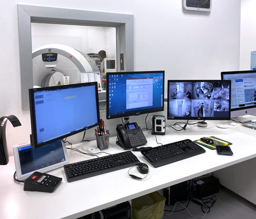 Futuravet Clinica Veterinaria Tomografia Computerizzata GE REVOLUTION ACT 16 STRATI