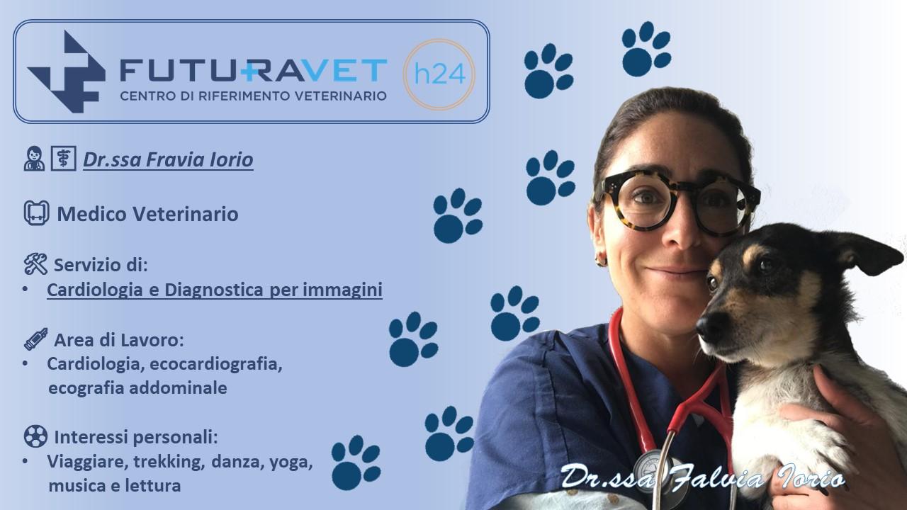 Dr.ssa Flavia Iorio - Medico Veterinario Clinica Futuravet
