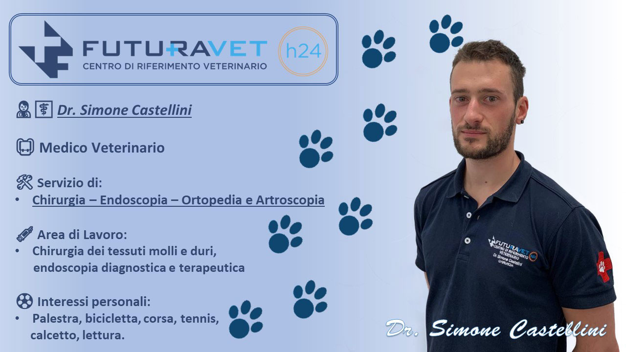 Dr. Simone Castellini - Medico Veterinario Clinica Futuravet